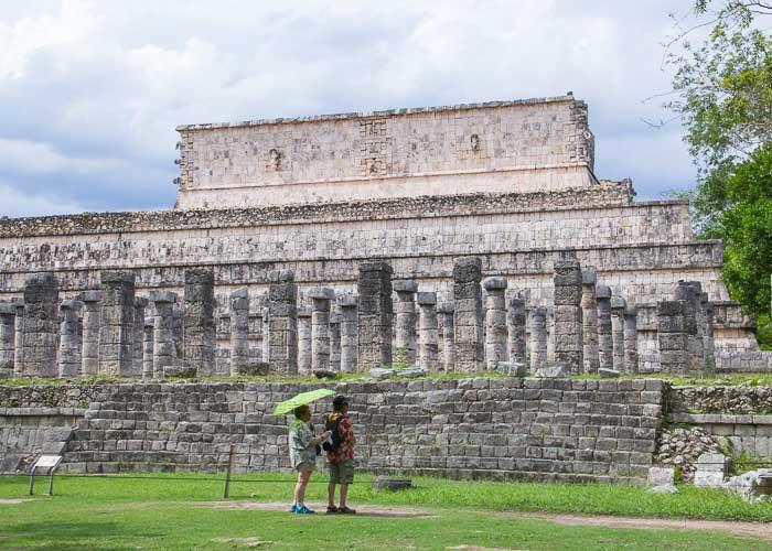 tours-chichenitza-templomilcolumnas