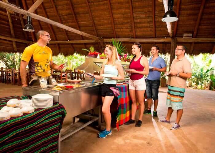 tour-ekbalam-cenotemaya-comida
