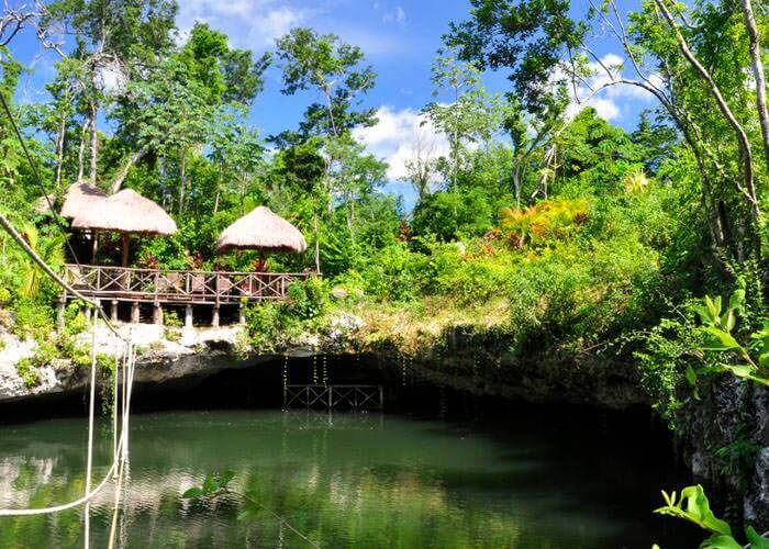 actividades-cancun-cenote-selvatica