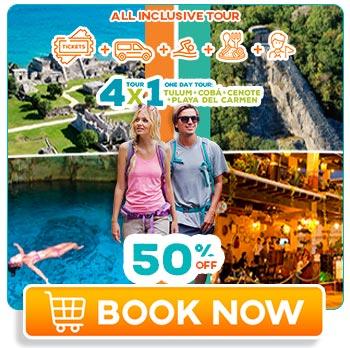 Tulum cba and cenote all inclusive tour