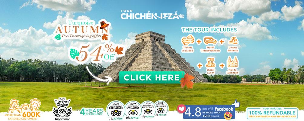 chichen Itza Equinox 2021 All inclusive deals