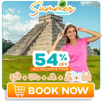 Young girl having fun in Coba and swiming in a cenote at Cancún
