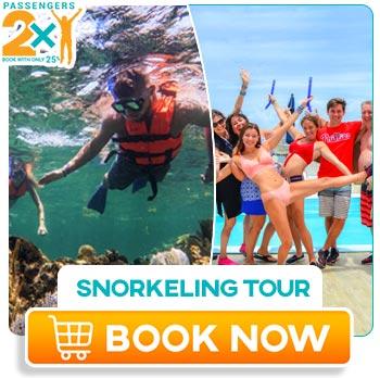 Snorkeling tour at Puerto Morelos in Cancún Spring