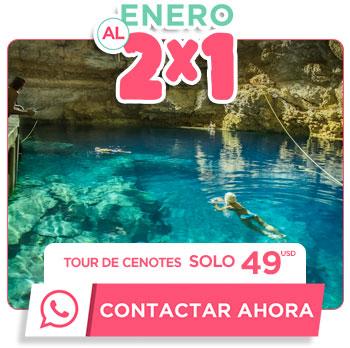 Tour de Snorkel en Cancún por 49 dolares