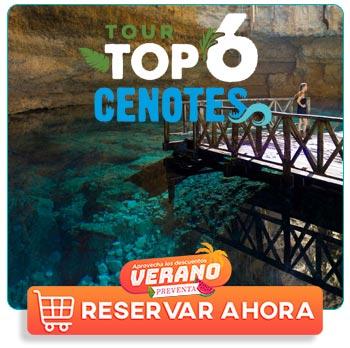 Cenotes subterraneos en Riviera Maya;