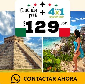 Piramide de chichén itzá piramide de tulum en la playa