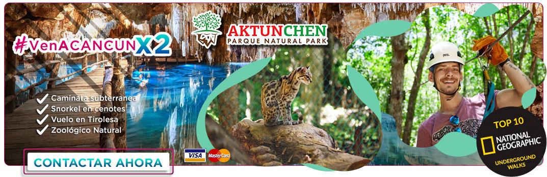 Tour de Caminata subterranea y nado en cenotes en Aktun Chen