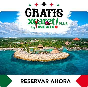 Consige Gratis un Tours a Xcaret Caleta Caribe Cancún