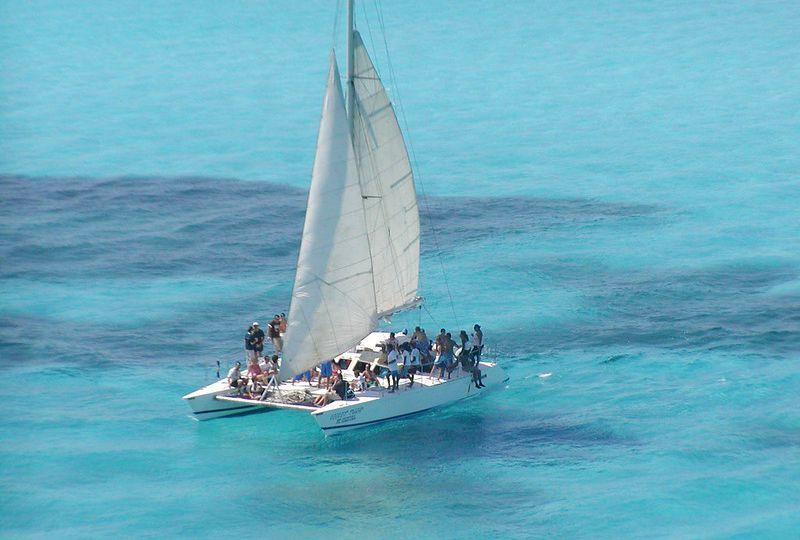 Catamarán Isla mujeres