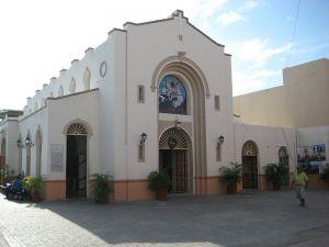 Templo católico en Cozumel