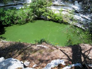 Cenote sagrado cerca de Chichán Itzá