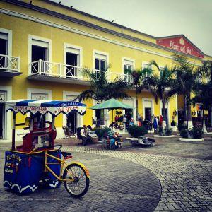 Construcciones antiguas en Cozumel