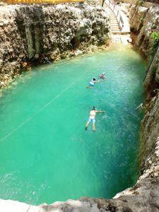 Cenote Koleeb Caab en Cobá