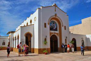 Iglesia de San Miguel en Cozumel, edificio colonial