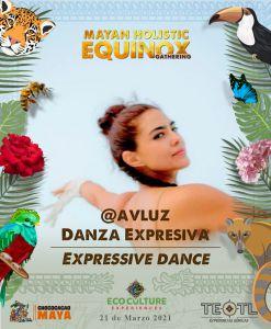 Participantes de Danza en el Equinoccio de Cobá