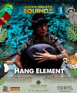 Música elemental en Equinoccio 2021 en Cobá