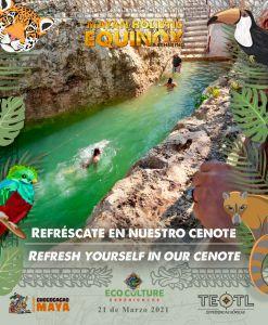 Cenote Koleeb Caab de Chococacao Maya en Cobá