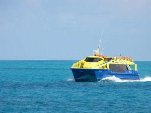 Ferry de ultramar, transporte maritimo en Quintana Roo